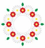 den blom- ramen inramniner serie Fotografering för Bildbyråer