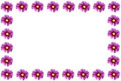 den blom- ramen inramniner serie Bakgrund vektor illustrationer