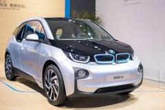 Den BMW i3 elbilen Fotografering för Bildbyråer