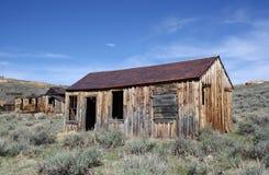 den bodie spöken houses den gammala townen Arkivbild