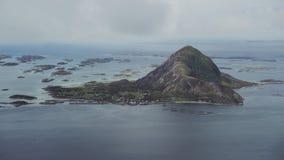 Den Bolga ön stock video
