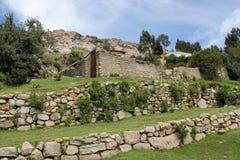 den bolivia incaen fördärvar Royaltyfri Fotografi
