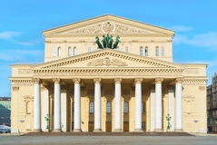 Den Bolshoi theatren Arkivfoton