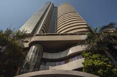 Den Bombay börsen i Mumbai Arkivbild