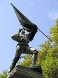 den borgerliga flaggasoldaten kriger Royaltyfri Foto