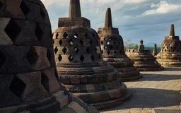 Den Borobudur templet Royaltyfri Fotografi