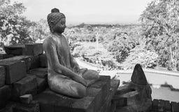 Den Borobudur templet Royaltyfria Foton