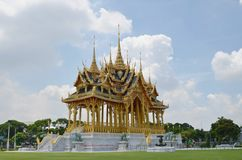 Den Borommangalanusarani paviljongen Royaltyfria Foton