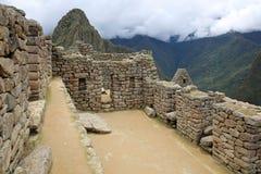 Den borttappade Incan staden av Machu Picchu nära Cusco peru fotografering för bildbyråer