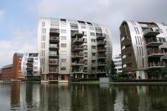 Den Bosch. Modern residential architecture in 's-Hertogenbosch (Den Bosch), city in Holland Stock Photo
