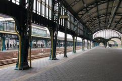 Den Bosch railway station. Old covered platform of Den Bosch railway station, Netherlands Stock Photography