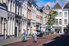 Den Bosch Streets Nederländerna Royaltyfri Fotografi