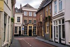 Den Bosch Streets, Paesi Bassi Fotografie Stock Libere da Diritti