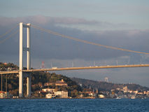 Den Bosphorus bron Royaltyfri Bild
