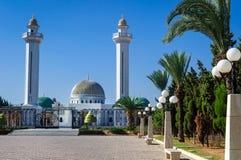 Den Bourguiba mausoleet är en monumental grav i Monastir som innehåller restna av presidenten Habib Bourguiba arkivfoton