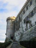 Den Bracciano slotten, också som är bekant som Castello Orsini - Odescalchi rome Royaltyfri Fotografi