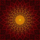 Den brillant rundan mönstrar Arkivfoto