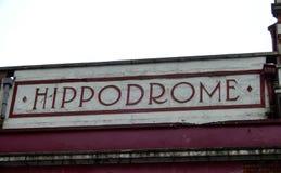 Den Bristol Hippodrome teatern arkivfoton