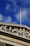 Den British Museum fasaden Fotografering för Bildbyråer