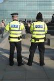 Den Britsh polisen arkivbilder