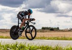 Den brittiska cyklisten Froome Christopher Royaltyfri Fotografi