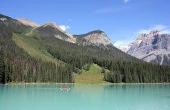 den brittiska Kanada columbia smaragdlaken lokaliserade nationalparkyoho Royaltyfri Foto