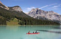den brittiska Kanada columbia smaragdlaken lokaliserade nationalparkyoho Royaltyfria Foton