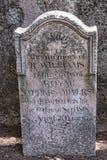 Den brittiska kyrkogården på den grekiska ön av Korfu Arkivfoton
