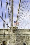 Den Brooklyn bron Royaltyfri Foto