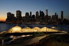 Den Brooklyn bron parkerar 1 Royaltyfria Bilder
