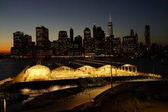 Den Brooklyn bron parkerar 10 Arkivbilder