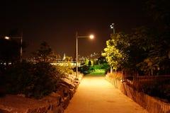 Den Brooklyn bron parkerar 87 Arkivbild
