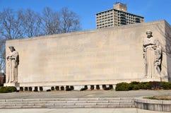 den brooklyn minnesmärken kriger Fotografering för Bildbyråer
