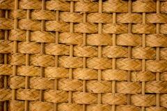 Den bruna bambupinnen Royaltyfria Bilder