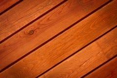 Den bruna wood texturen Arkivfoton