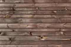 Den bruna wood texturen med naturliga modeller Arkivbild