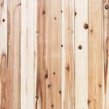 Den bruna wood väggplankan och gnarl textur eller bakgrund Arkivfoto