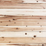 Den bruna wood väggplankan och gnarl textur eller bakgrund Royaltyfria Bilder