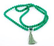 Den buddistiska bönen pryder med pärlor, från gem Royaltyfria Foton