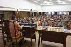 Den buddistiska konserten Royaltyfria Foton