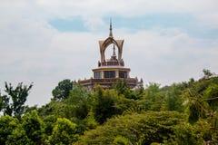 Den buddistiska kyrkan Royaltyfri Fotografi