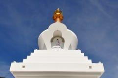 Den buddistiska Stupaen i Benalmadena, Spanien arkivfoto