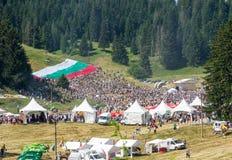 Den bulgariska nationella Folk festivalen Royaltyfri Fotografi