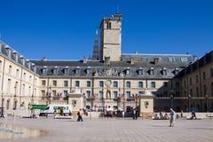 Den Burgundy hertigslotten i Dijon, Frankrike Royaltyfri Foto