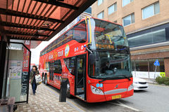 Den Busan staden turnerar bussen Royaltyfri Fotografi