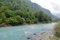 Den Bzyb floden Royaltyfria Bilder