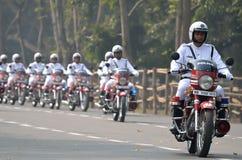 Den Calcutta polisen Royaltyfri Fotografi