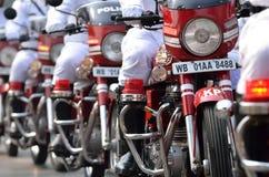 Den Calcutta polisen Royaltyfria Bilder