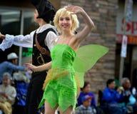 Den Calgary rusningen ståtar - den största utomhus- showen på jord, Calgary, Alberta, Kanada Royaltyfria Foton