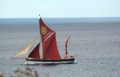 Den Cambria yachten. Royaltyfri Fotografi